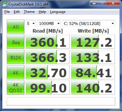 Crystal Disk Corsair Force GT ASUS U3S6 Benchmark Driver 1.0.0.1036