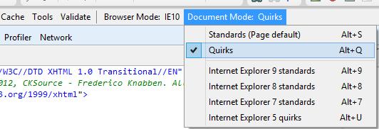 IEQuirksMode